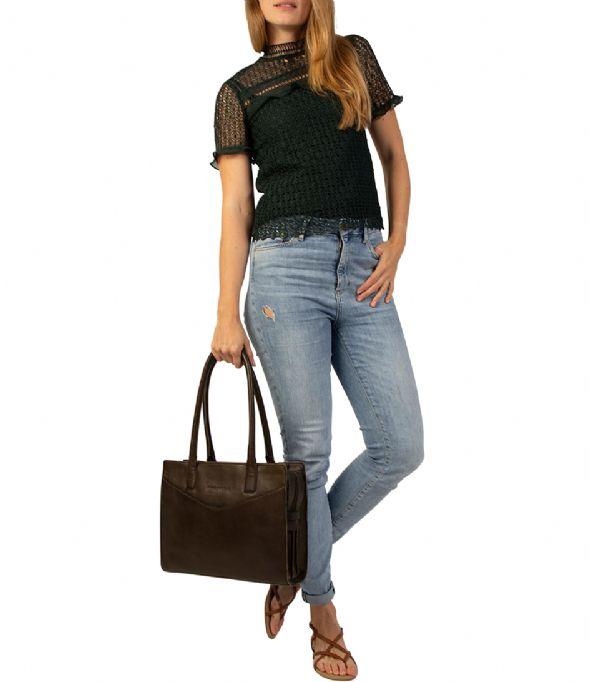 Bag Nora Dark Green | Cowboysbag